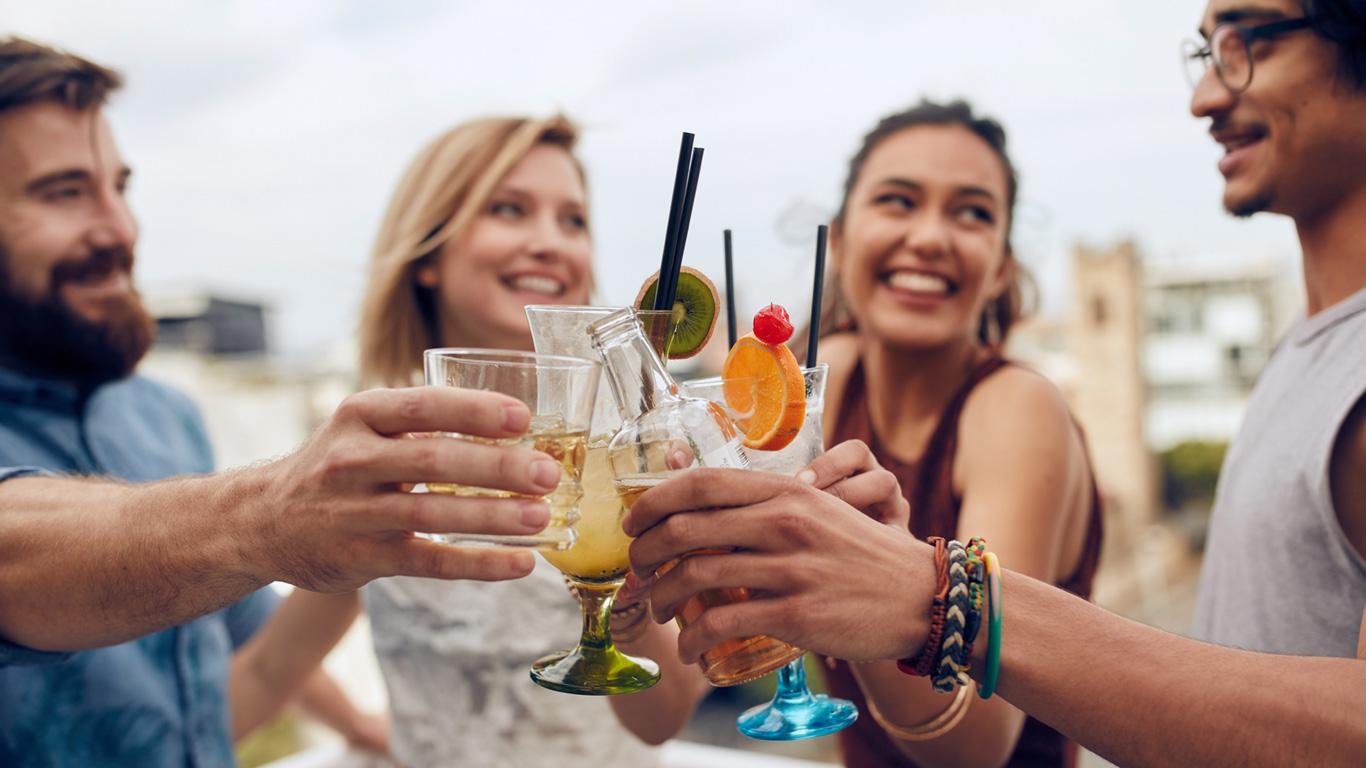 Nur die wenigsten können auf Alkohol verzichten