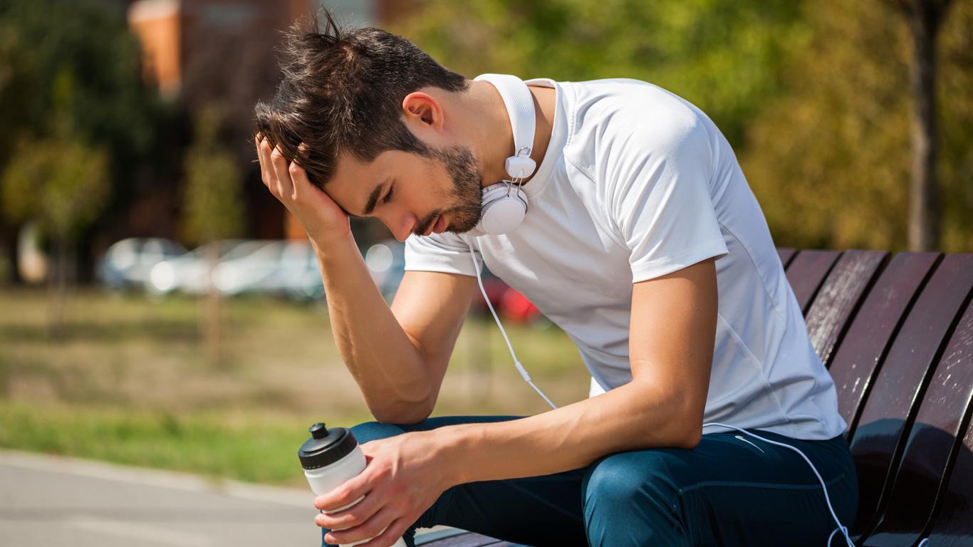 Schwindel und Kopfschmerzen