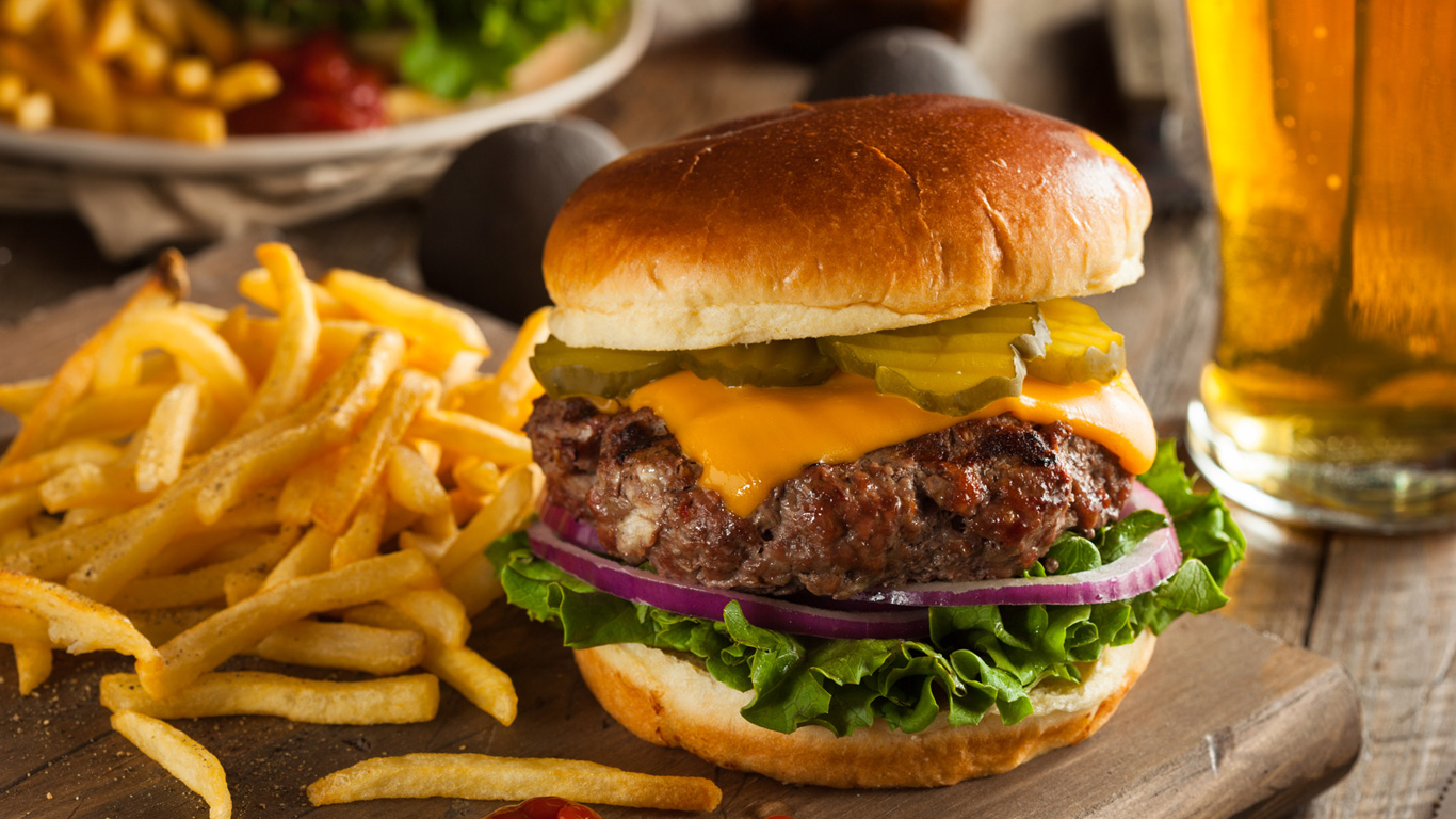 Fast Food sorgt für ein aggressives Immunsystem