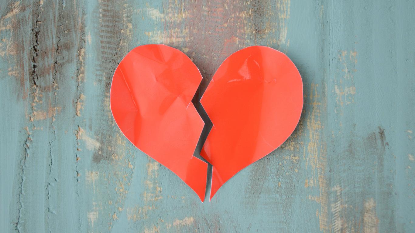 Gebrochenes Herz sorgt für Herzschmerzen