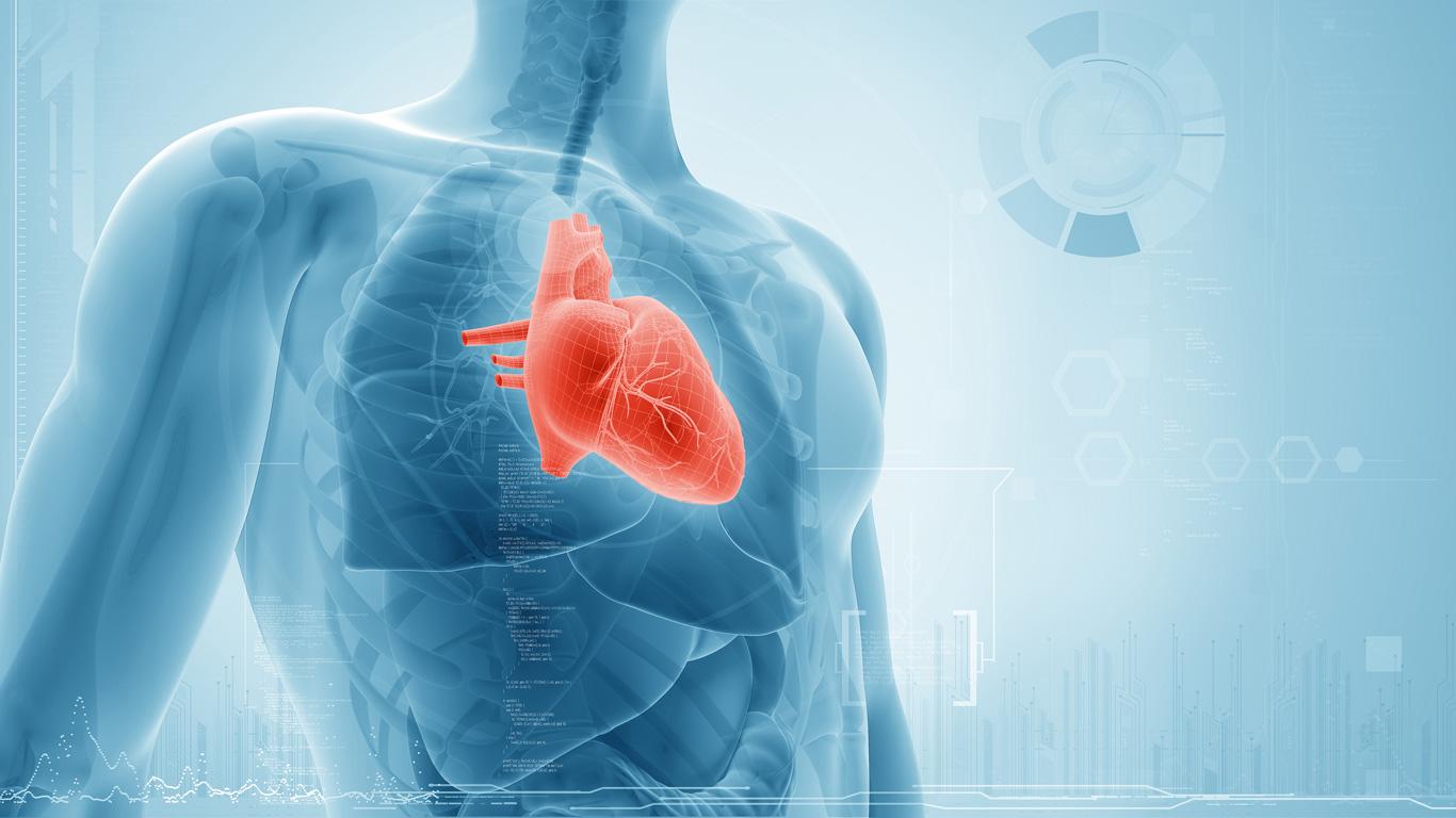 Schwache rechte Herzhälfte