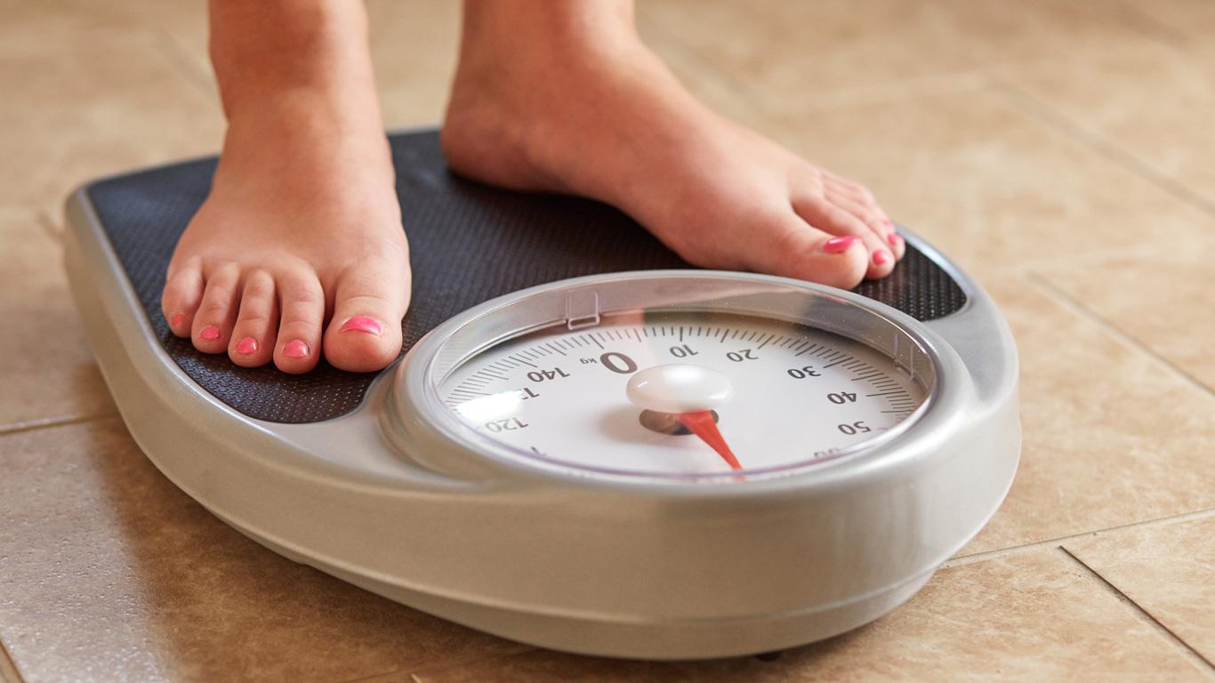 Frauen und Männer: Gewichtsverlust