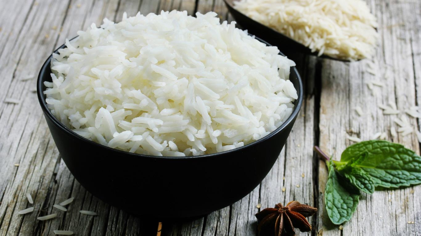 Reis ist nährstoffreich
