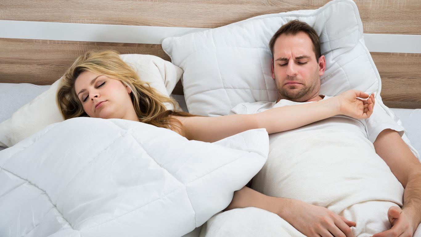 Extreme Träume und Schlafstörungen