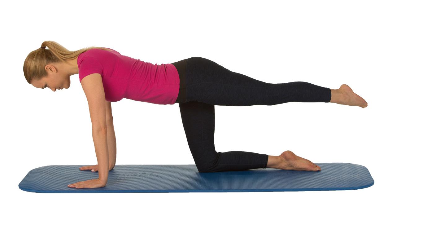 Leichte Übungen für einen starken Rücken