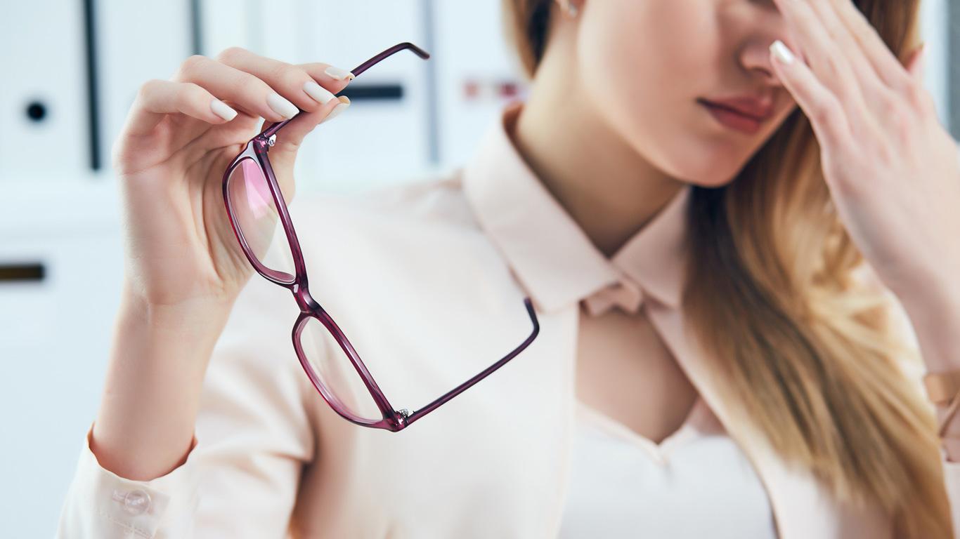 An die Brille gedacht?