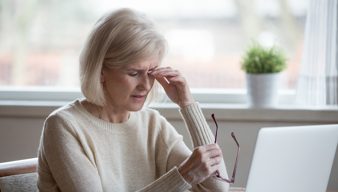 Wenn Stress das Sehvermögen verschlechtert